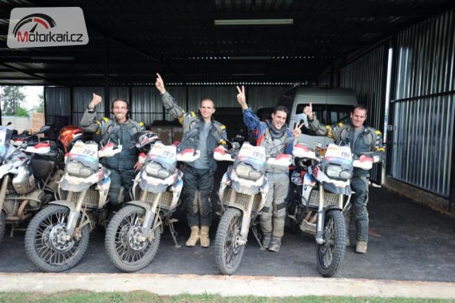 Pozvánka pro èeské motorkáøe do kvalifikace BMW Motorrad GS Trophy 2012
