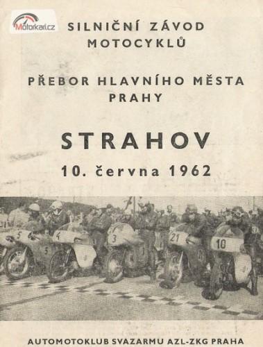 �t�t Strahova - z�vodn� motorky op�t v Praze