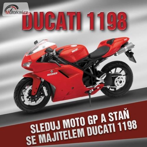 Soutìž s AZ Pneu o Ducati, pneumatiky a další ceny