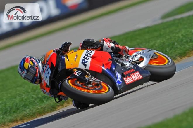 GP Indianapolisu - pátek v IMS
