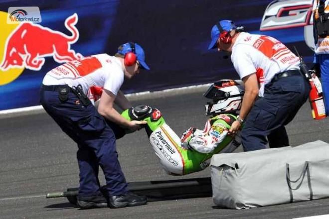 Tìžké zranìní Hectora Barbery