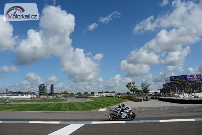 GP Indianapolisu - sobota v IMS