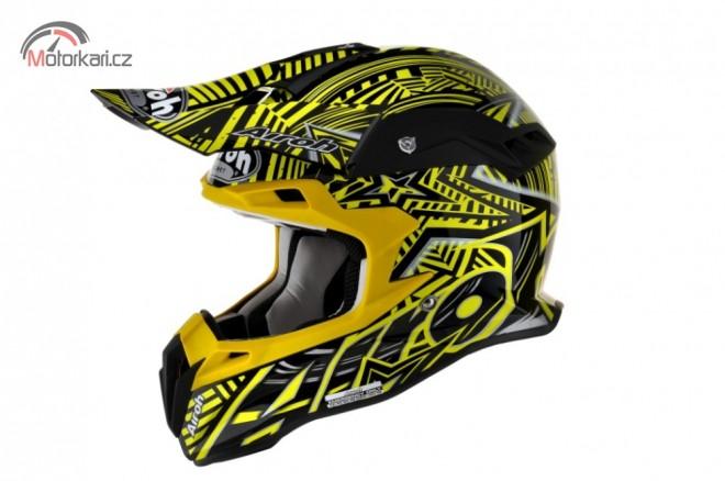Nová carbon-kevlarová helma od Airohu
