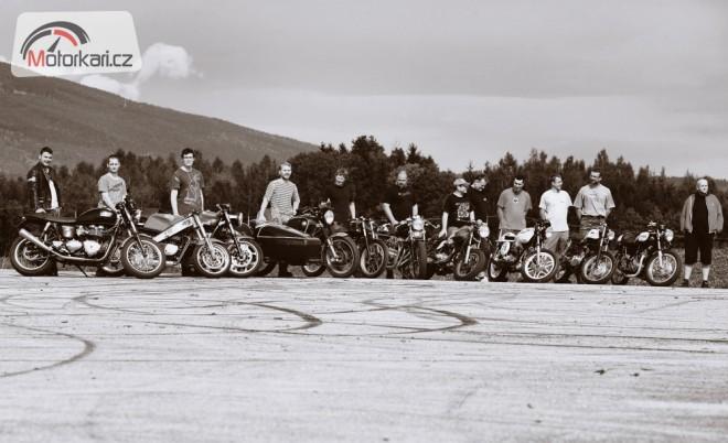 Krkonošské setkání Café Racer Clubu
