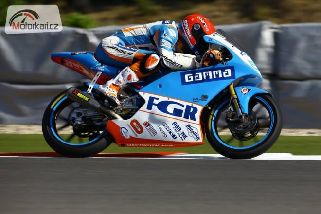 Nové barvy motocyklu týmu MOTO FGR štìstí nepøineslo