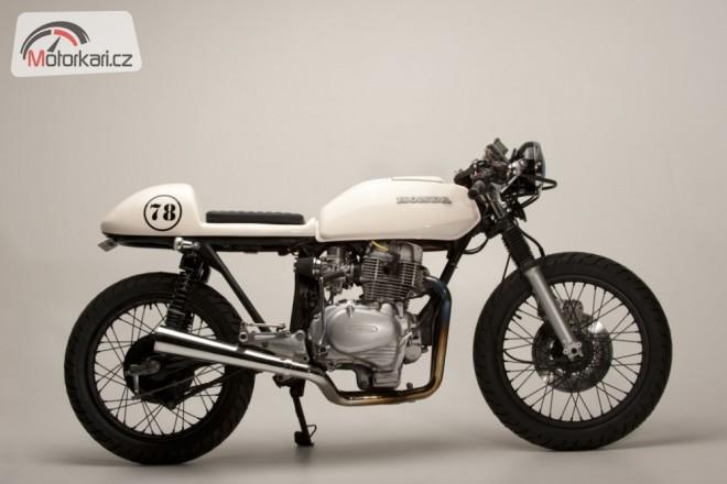 Honda CB400T od Steel Bent Customs