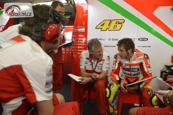 Rossi ukonèil test v Misanu, Hayden se uzdravuje dle plánu