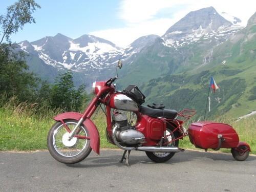 Pávi v Alpách