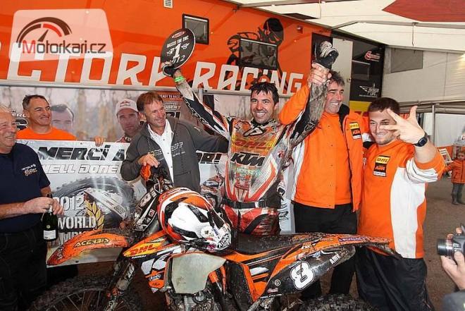 Další titul pro KTM získal ve Finsku Antoine Meo