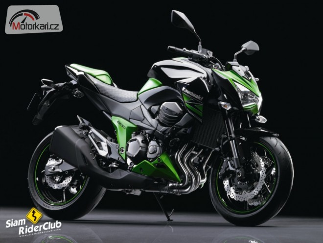 Kawasaki Z800 - první informace a fotografie