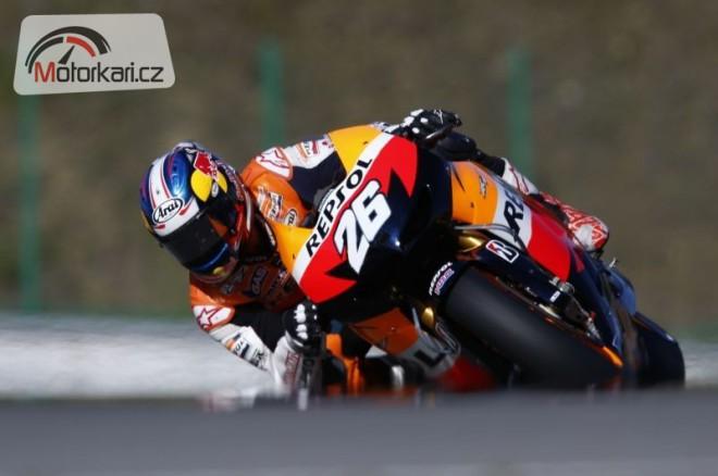 Aragón - test MotoGP 1. den
