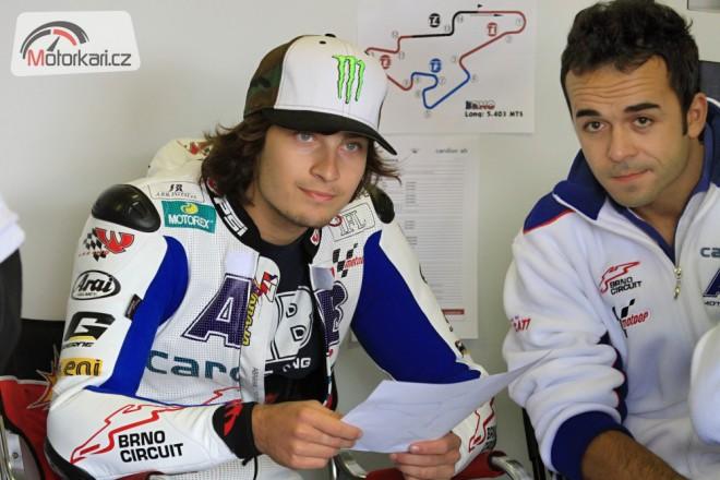 Karel Abraham pojede i v roce 2013 v MotoGP