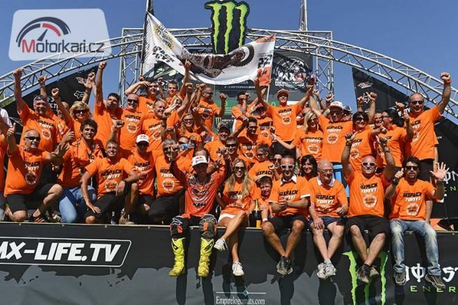 U KTM slaví tituly Cairoliho a Herlingse