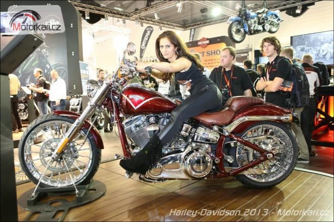 Nové Harleye už jsou tady!