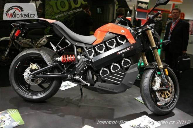 Intermot: elektrické motocykly