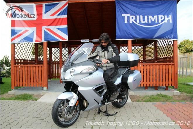 Nový Triumph Trophy je v ÈR