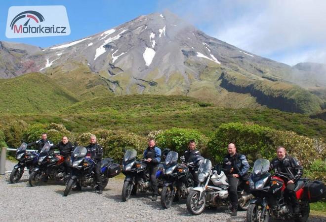 Novým Zélandem na motorce