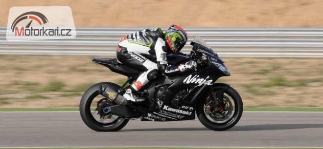Úspìšný test nové superbikové Kawasaki
