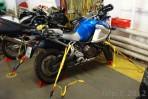 p�ikurtovan� motorka