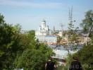 Pohled na katedr�lu z vrcholku s observato��