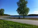 Za��tek malebn� silnice mezi jezery - Punkaharju