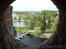 Pohled z hradu Olavinlinna