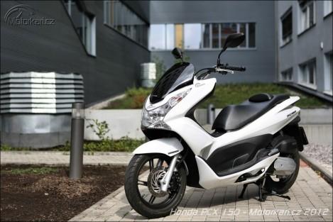 Recenzia Honda PCX 150 1