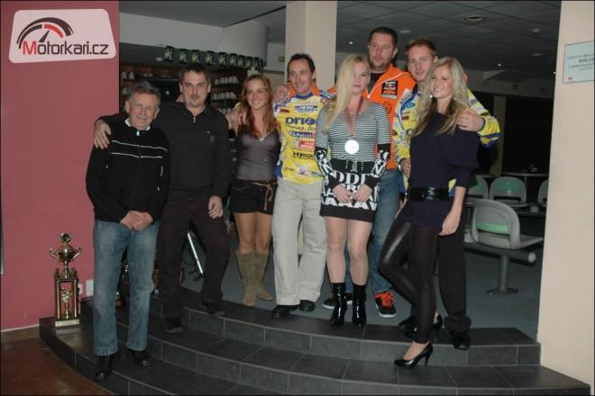 Ukonèení sezony jezdcù Orion Litomyšl- RS Petrol týmu
