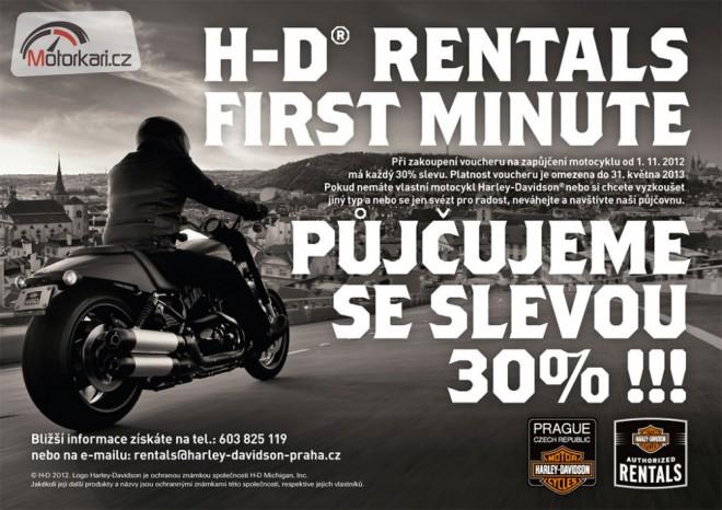 P�j�te si Harleye s 30% slevou