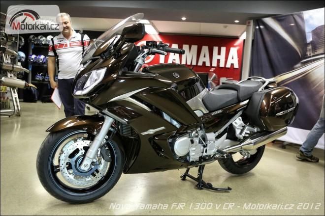 Nov� Yamaha FJR 1300 v �R
