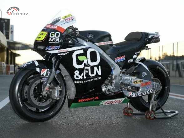 GO & FUN GREEN ENERGY nov�m sponzorem t�mu Gresini