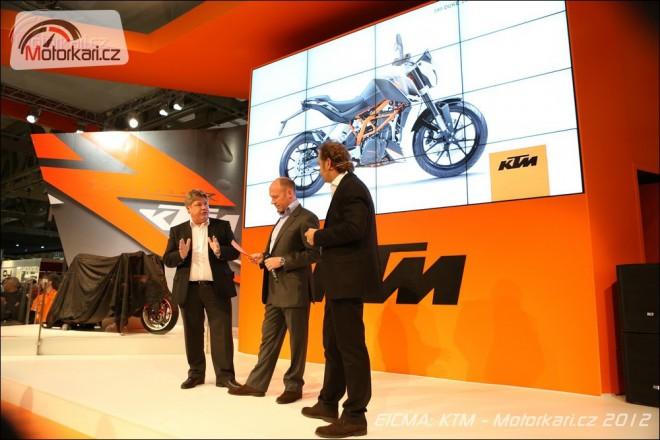 Eicma: KTM