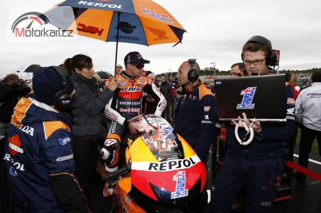 Stoner opustil paddock Grand Prix