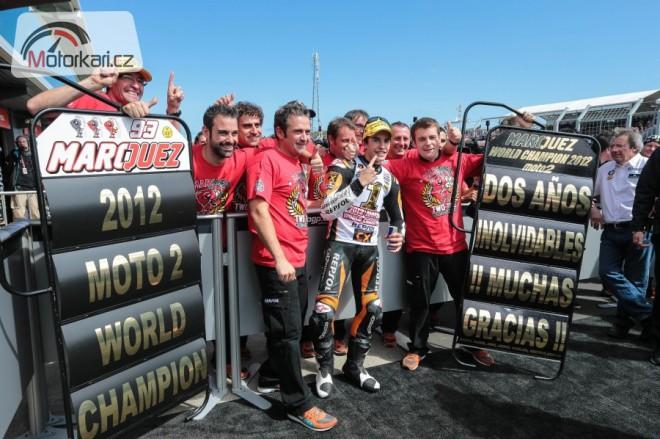 Rekapitulace sezony 2012 - kubatura Moto2