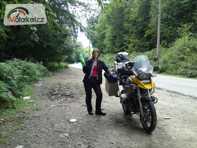 BMW R1200GS a cesta kolem Balkánu