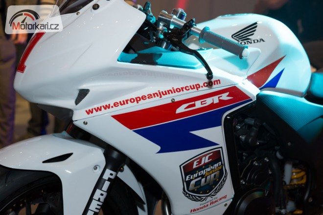 European Junior Cup p��t� rok na CBR500R