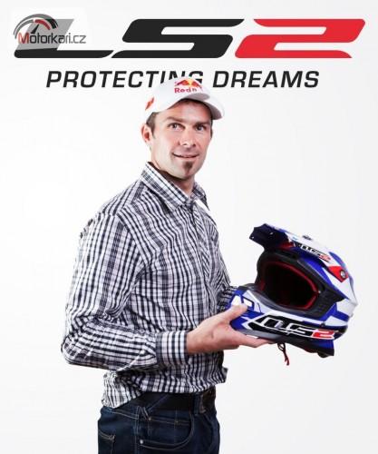 Cyril Despres pojede Dakar 2013 v pøilbì LS2