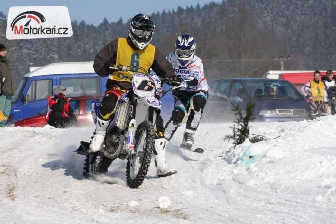 Tisková informace k seriálu MÈR 2013 v motoskijöringu