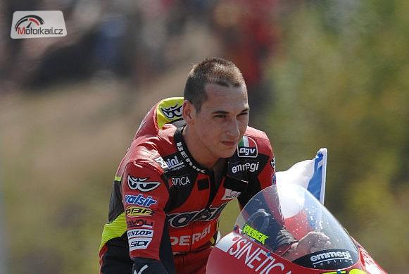 Lukáš Pešek pojede MotoGP