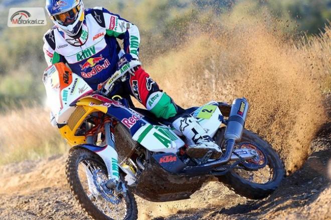 Dakar 2013 se musí obejít bez Marca Comy