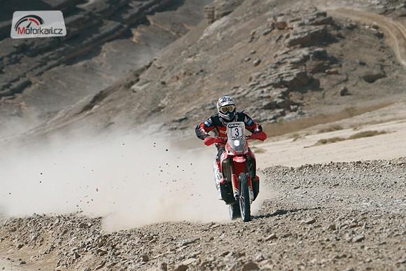 Dakar: Honda nakonec pojede jen ve tøech