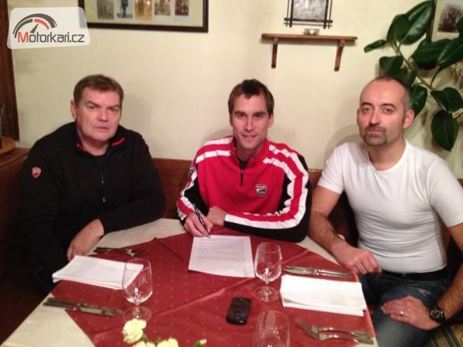 Ondra prodloužil smlouvu s týmem SK Energy – Fany Gastro