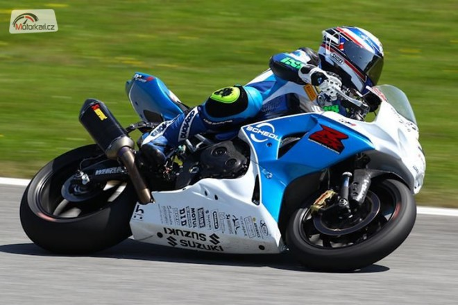 Martin Bauer pojede Suzuki