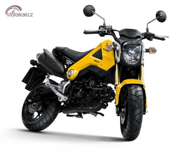 Honda MSX125 -  legendární Monkey má nástupce