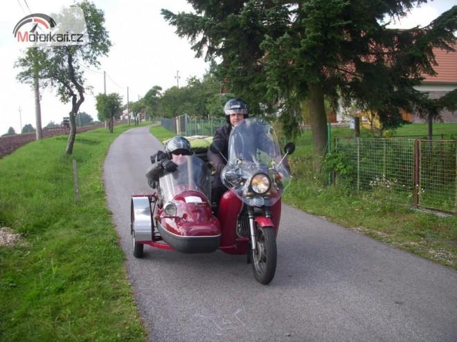 Slovensko - Vysok� Tatry na Jaw� 350 se sidecarem Velorex 560 � z��� 2012.
