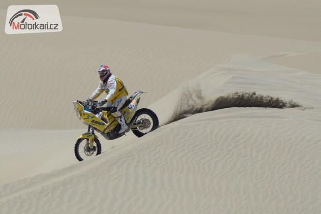 David Pabiška zajel na Dakaru svoji životní etapu!