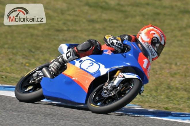 Alexis Masbou s tøetím motocyklem FTR-Honda