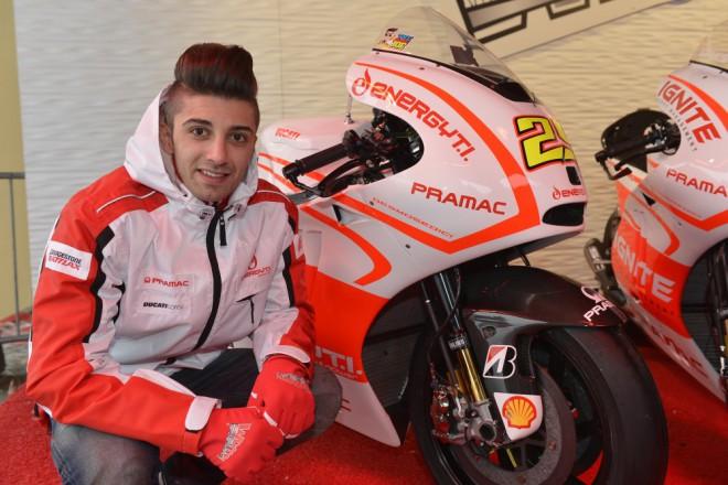 Pramac-Ducati: Jediný Rookie u Ducati je Andrea Iannone