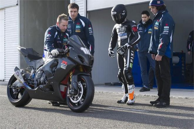 Jules Cluzel poprv� na superbikov� Suzuki