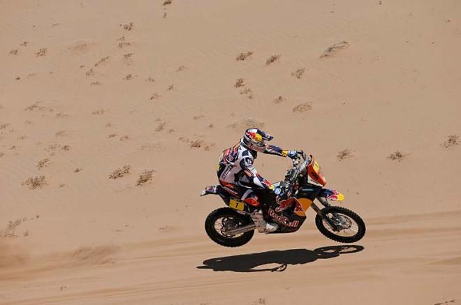Despres má k pátému triumfu na Dakaru blízko